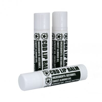 Peppermint CBD Lip Balm 37.5 mg product image from CBD Houston