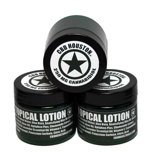 Lemon Lavender CBD Cream Lotion 250 mg product image from CBD Houston